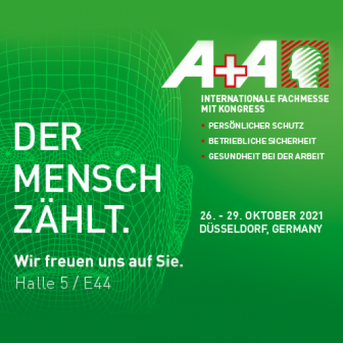 Exhibition for global PPE trends A + A 2021