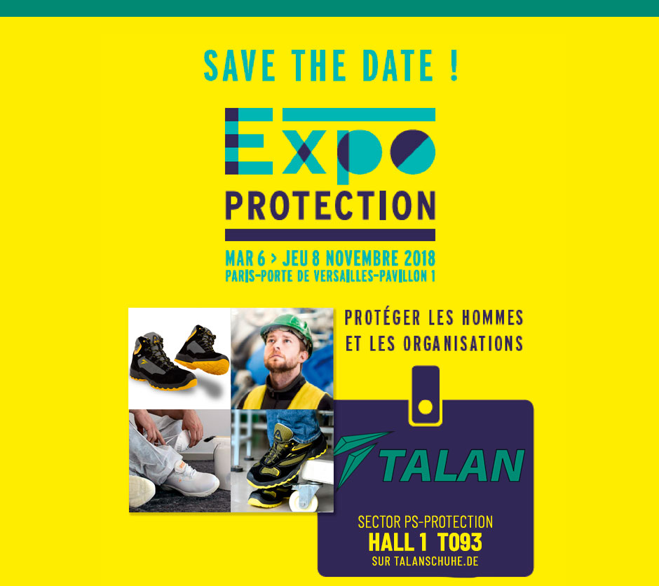 EXPO PROTECTION 2108,   on 6-8th November, 2018 in FRANCE, PARIS.